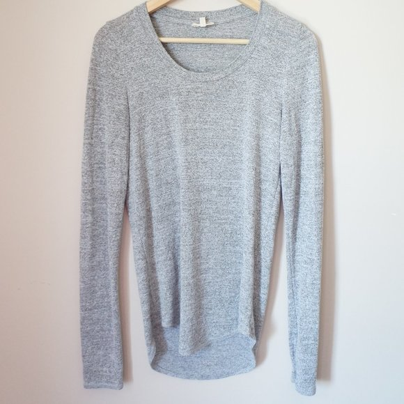 Wilfred Free Long Sleeve Tunic Top Stretch